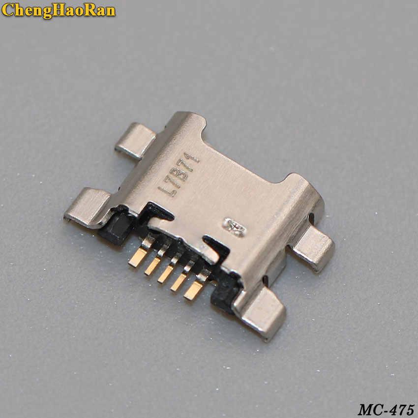 ChengHaoRan 1-5 ピースマイクロ USB Huawei 社の名誉のための 7C 7A 7X 9 Lite 7 楽しむ s 充電コネクタ充電ポートソケットジャックプラグ