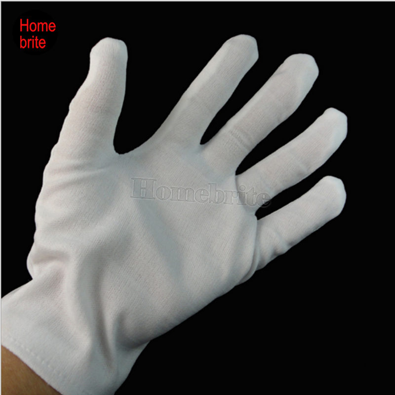 White Magicians or Clown Gloves Fancy Dress Accessory Wizard Prop Free P+P Adult