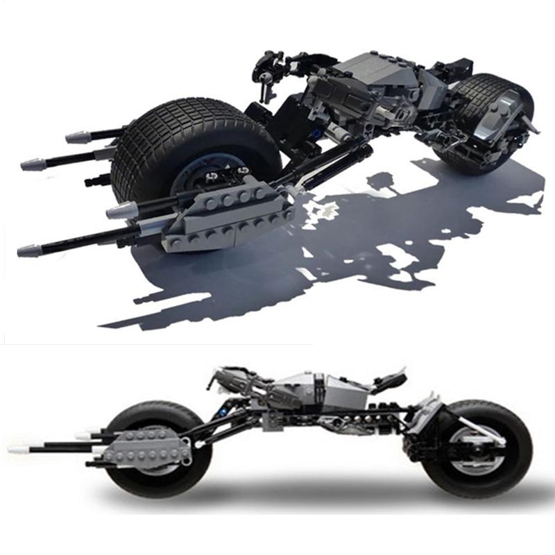 7115 Batman Tumbler Compatible 76023 brand Super Heroes Batmobile Batboat Batfighter kid gift Building Blocks DC 5004590 Toys