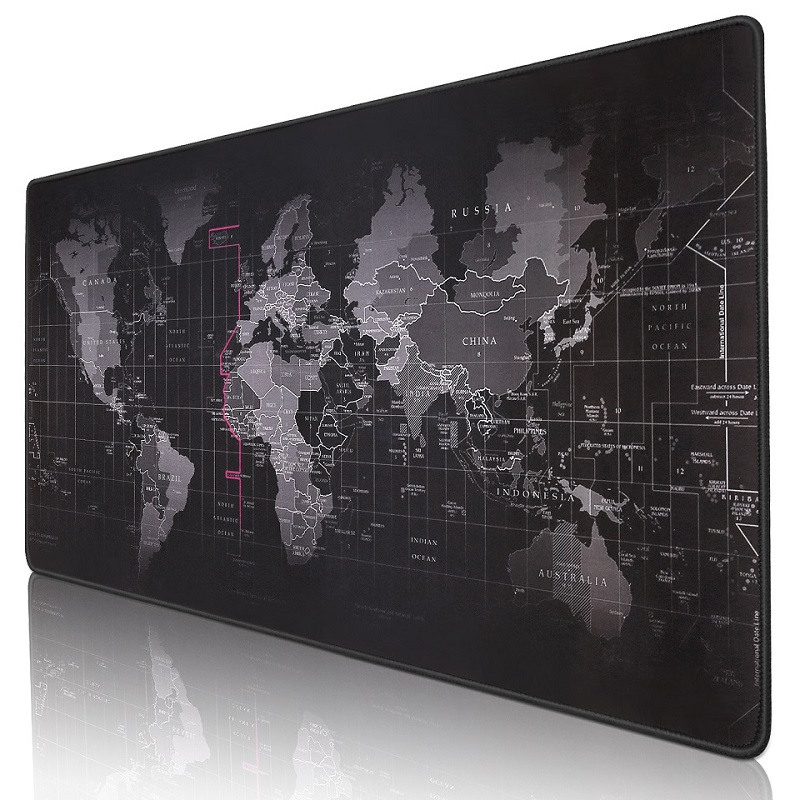 9050baa125e Gaming Mouse Pad Large Mouse Pad Gamer Big Mouse Mat Computer Mousepad  Rubber Surface World Map Mause Pad Keyboard Desk Mat Game