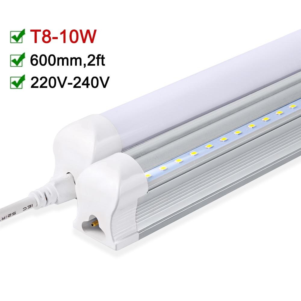T8 LED Tube 600mm 2ft LEDs