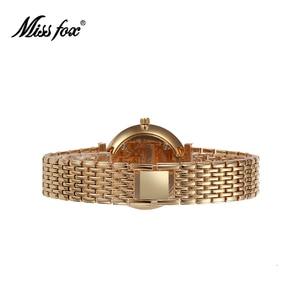 Image 3 - MISSFOX reloj a prueba de choques resistente al agua marca de moda importada China Erkek Saat diamante Carnaval Acero inoxidable Bu Bayan Kol Saati