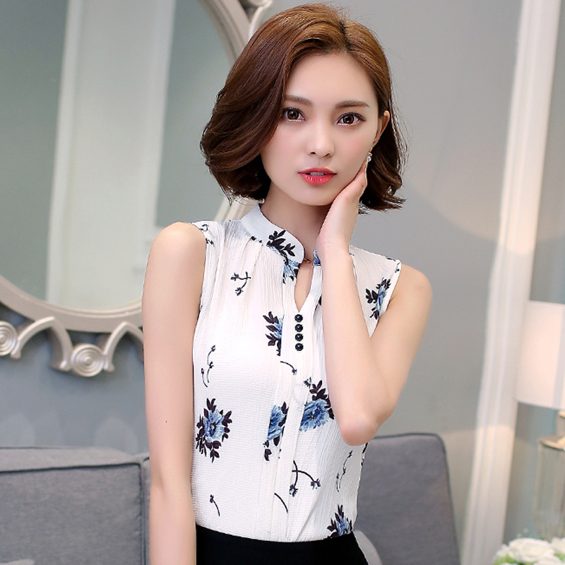 Elegant Aliexpresscom  Buy 2017 Pure White Blouse Blusa Chiffon Women Office