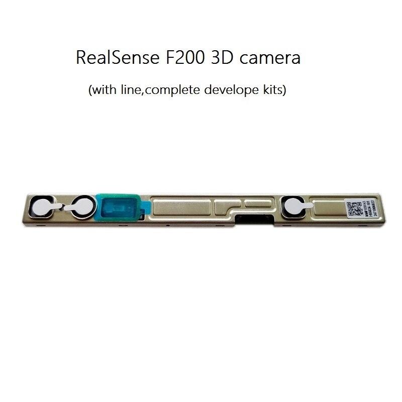 Cámara Realsense F200 escáner de detección y reconocimiento de rostro 3d con línea Dropship lámpara de Luna 3D 20cm 18cm 15cm cambio colorido toque USB Led luz de noche decoración del hogar regalo creativo