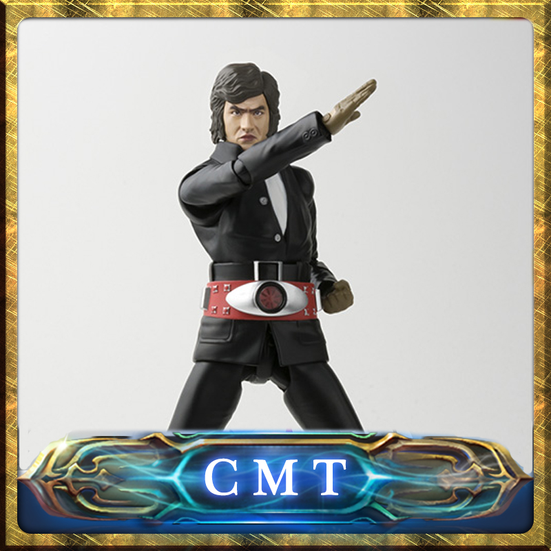 CMT INSTOCK Original Bandai Tamashii Nations S.H.Figuarts SHF Takeshi Hongou Action Figure Anime PVC Toys Figure Collection Mode anime captain america civil war original bandai tamashii nations shf s h figuarts action figure ant man