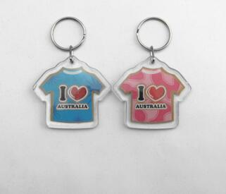 Customized Design Key Chain Logo Volleyball Keychain