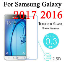 9H Tempered Glass For Samsung Galaxy A8 2018 A530 A3 A5 A7 2017 J1 J3 J5 J7 A3 A5 A7 2016 J120 J320 J510 A510 Screen Protector(China)