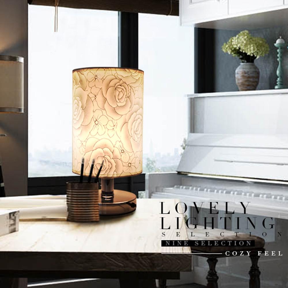 Design interior kamar minimalis - Desain Lampu Meja Led Lampu Meja Lampu Meja Kamar Tidur Kain Kap Lampu Nordic Lampu Meja