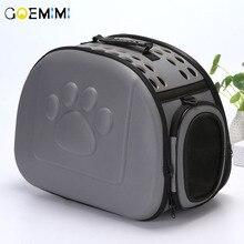 Cat Carrier Bag Outdoor Dog Foldable EVA Pet Kennel Puppy Travel Shoulder for Small