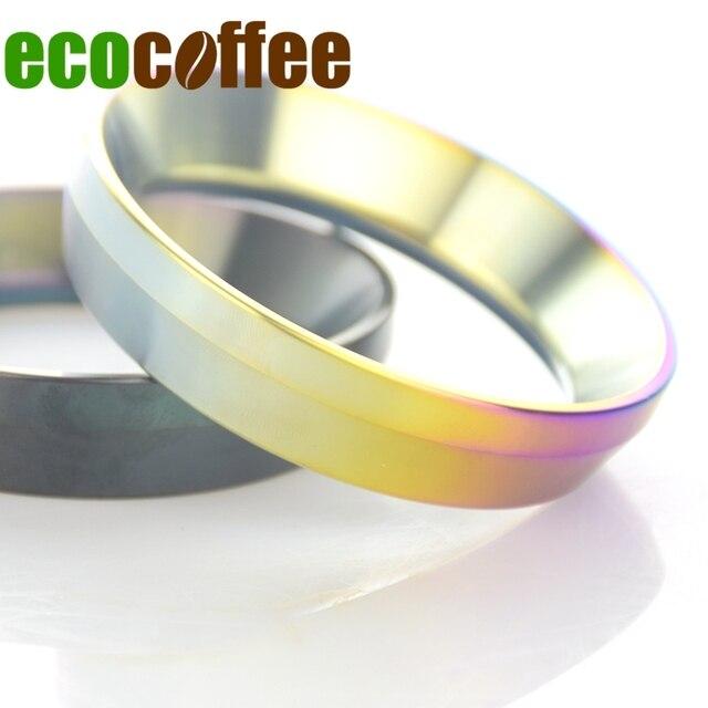 1 шт. IDR умный Дозирующее кольцо для пивоварения чаша Кофе косметическая пудра для эспрессо бариста инструмент для мм 58 мм кофе вскрытия