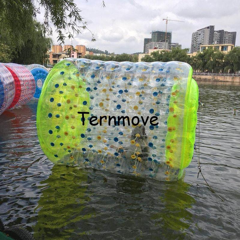 Roue gonflable de rouleau de l'eau, roue de ballon de marche de Tube de boule de l'eau