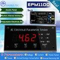 EPM1100 ваттметр/цифровая панель амперметр/измерители мощности/электрический тестер 110 В/10A/Пит установленный