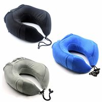 U Shape Soft Memory Foam Neck Rest Cushion Pillow Support Car Home Head Support Office Cushion