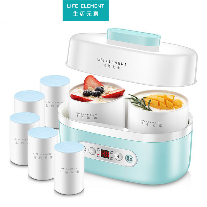 Yogurt Machine Lactic Acid Fermentation Machine Natto Machine Brewing Machine Fully Automatic Small Intelligent Split Cup Timing i max lactic acid 50