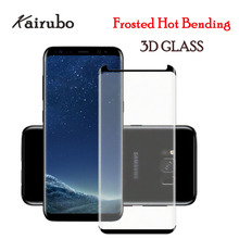 Matte Tempered Glass 3D Curved Frosted For Samsung S8 plus S9plus Anti-Fingerprint Screen Protector for Note 8 S9 film