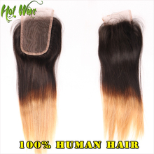 New Arival Ombre Peruvian Virgin Straight Hair With 3pcs 6A Beauty Forever Straight Hair With Lace Frontal   ZJ49