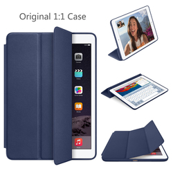SZEGYCHX 9.7 inch Case for iPad Air 2 Magnet Smart Auto Sleep Stand Flip Leather Cover A1566 A1567 Shell With Logo