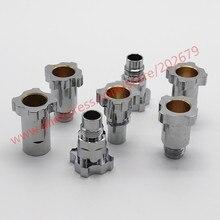 Pistolet pulvérisateur pulvérisateur pulvérisateur jetable, connecteur PPS, Pot de mesure, connecteurs 16x1,5 et 14x1 G3/8