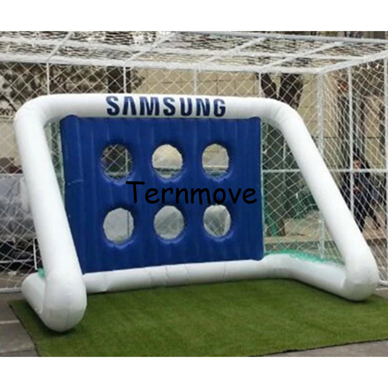 Aliexpress Com Buy G319 Soccer Shooting Custom: Inflatable Soccer Target Game, Carnival Inflatable