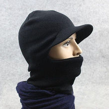 New Men Winter Warm Full Face Cover Winter Ski Mask Beanie Hat Sport windproof