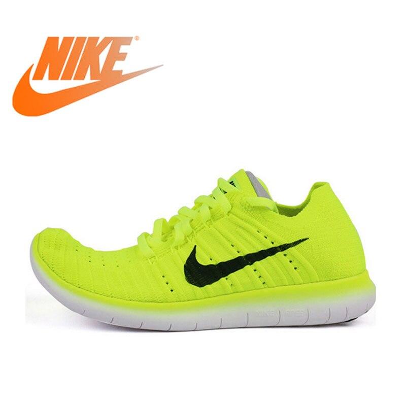 Chaussures de course respirantes originales NIKE FREE RN FLYKNIT R pour femmes baskets de marche en plein air Jogging confortable Durable