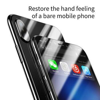 Закаленное стекло Baseus для iPhone X 10 4