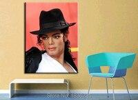 Лидер продаж ручной работы Ручная роспись холст картины сердце Майкл Джексон декоративная настенная живопись маслом трафарет Home Decor