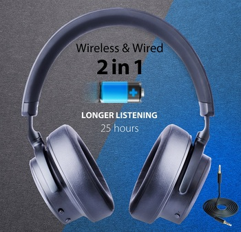 Hi-performance ANC headphones, Ambient sound function, aptX low latency, sensor/touch control, Active Noise Cancelling Headsets