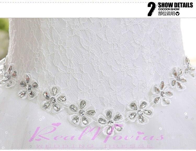 a6cfe084d5c Newly Wedding Dress Sexy Scoop Bridal Gown Fashionable Vestido De Marriage  Floor Length Organza Delay Bridal Dress DIS641A-in Wedding Dresses from  Weddings ...