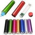 Портативный Многоцветный USB 5 В/1A Power Bank Случай 18650 Люкс Батареи Внешний DIY Заряда Box Kit Универсальный Сотовый телефоны Бесплатно Сварки