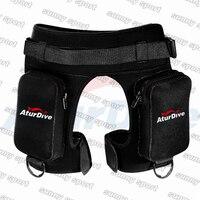 Aturdive submersible pocket pants submersible leg bag bags bandage pants submersible pants thickening Diving equipment shorts