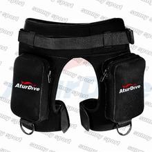 שקיות שקית כיס Aturdive צוללת צוללת מכנסיים רגל תחבושת צוללת מכנסיים עיבוי מכנסיים מכנסיים קצרים ציוד צלילה
