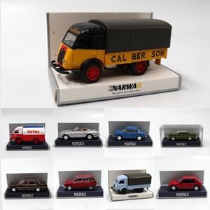 1/87 HO Scale Norev Renault Galion PEUGEOT Simca Citroen FACEL Vega III Models Toys Diecast Car(China)