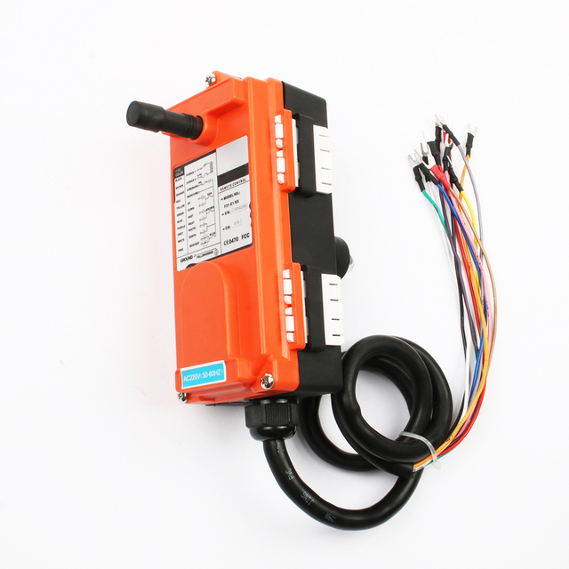 wireless industrial universal remote control switches distance for overhead crane switch 1 transmitter + 1 receiver 6 Channel