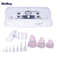 Digital Breast Care Beauty Machine Vacuum Breast Butt Lifting firming Enlargement Device Vibration Massage Body Cupping Therapy