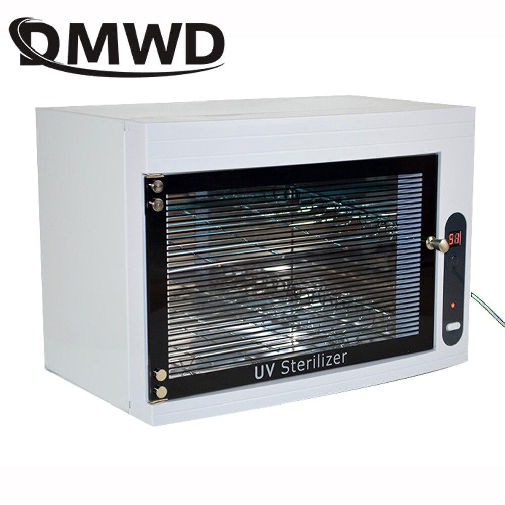 DMWD UV Sterilizer Disinfection Box mini ozone sterilizing machine dental Ultraviolet sterilization cabinet Nail Tools For Salon
