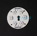 10 peça 50mm WS2811 2811 LED pixel módulo Full Color 6 LEDs 5050 LEDs PCB Board DC12V D38-6