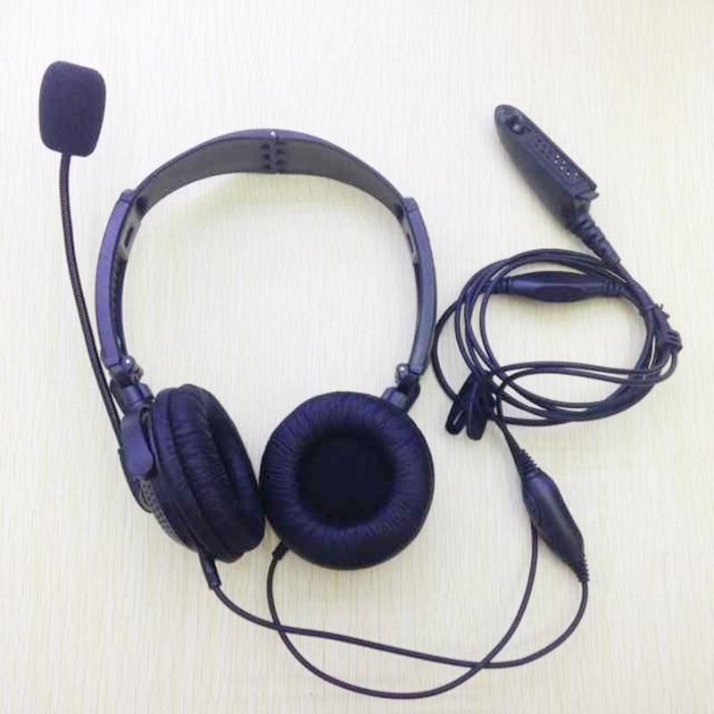Honghuisamrt Folding Headset ruisonderdrukking met mic vox voor motorola gp328 gp340 gp338 gp390, pxt760 ht750 etc walkie talkie