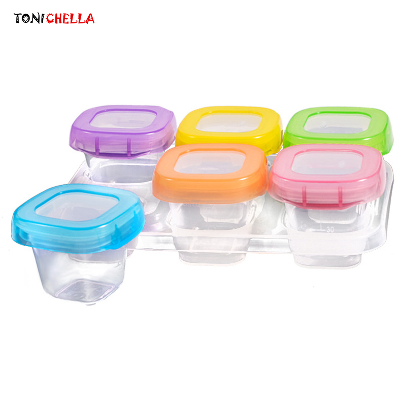 Baby Formula Dispenser Milk Powder Food Container Infant Feeding Storage Portable Children Tableware Toddler Dinnerware T0516