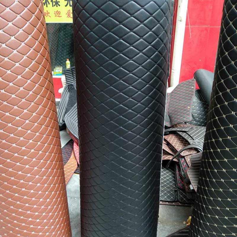 En gros XPE super fibre en cuir matériel tapis de voiture tapis imperméable à l'eau pad fournitures de voiture étanche tapis de bagage