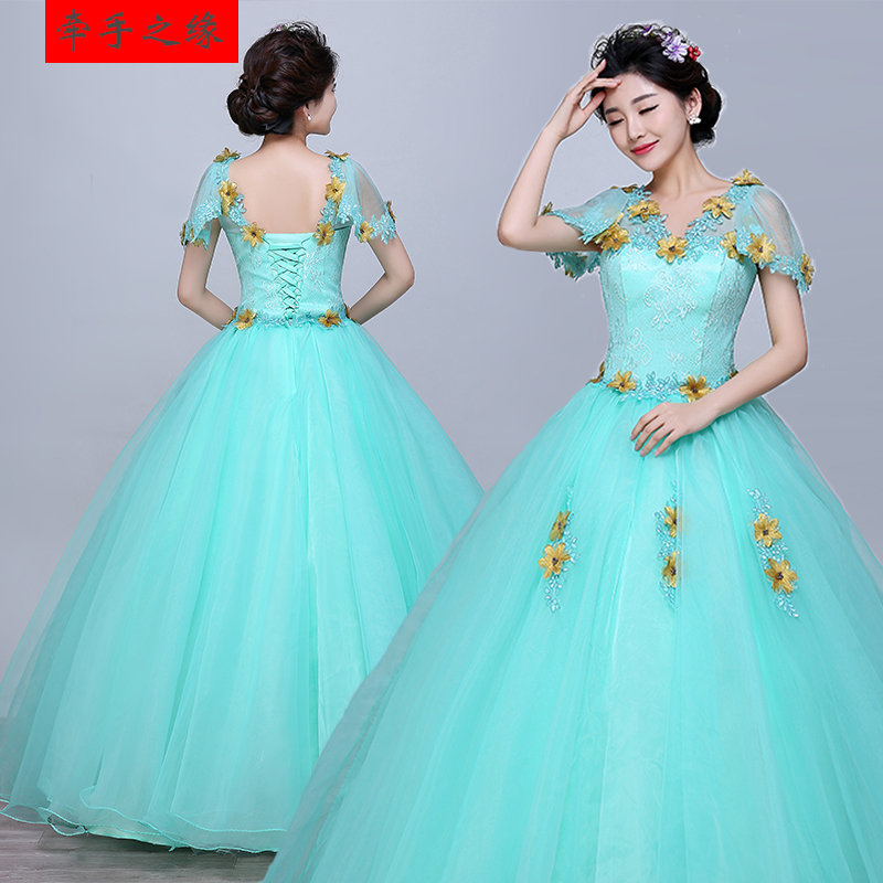 Analytical 2019 Cheap Gowns Lace Applique V Neck Cap Sleeve Blue Vestidos Quinceanera Vestido De Debutante Quinceanera Habitu Factory Direct Selling Price