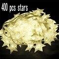 Новые 400 светодиодных гирлянд Little Star. Лучшее освещение для наружной и внутренней вечеринки