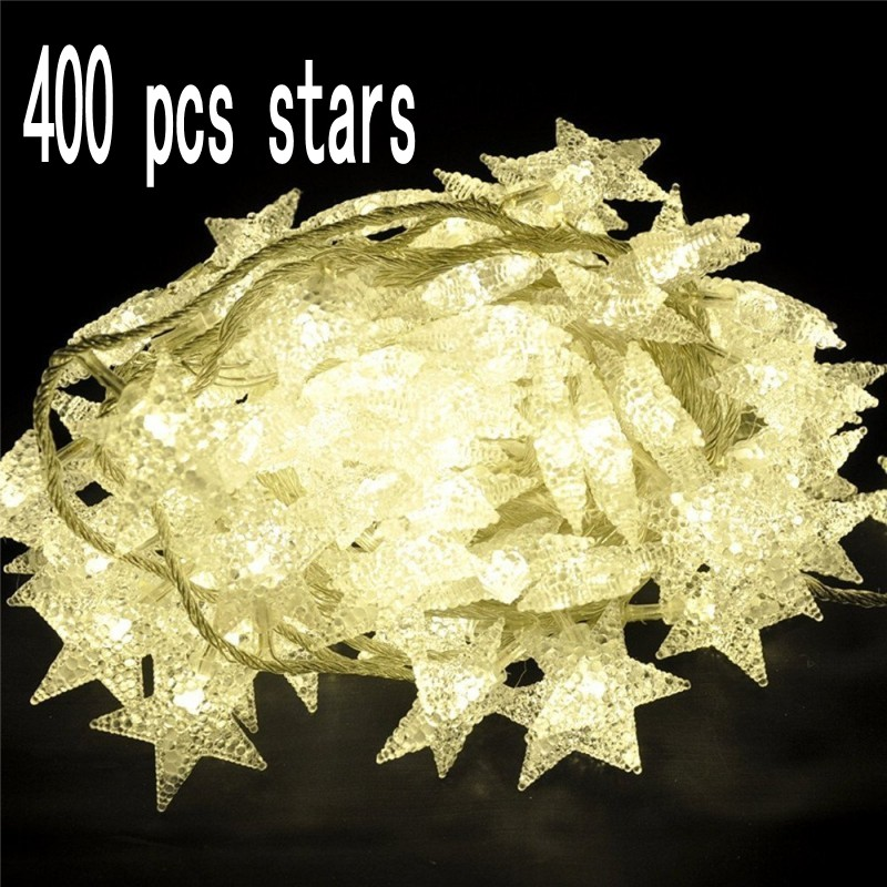 New 400 LED Little Star string lights. Best ambiance lighting for outdoor and indoor party decoration
