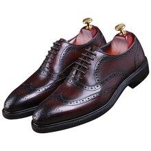 Goodyear/модные коричневые/черные туфли с рантом; оксфорды; мужские деловые туфли; модельные туфли из натуральной кожи; мужские свадебные туфли