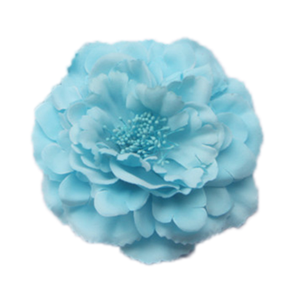 Hot Sales Charming Artificial Peony Silk Flower Headwear for DIY Work Home Wedding Decoration
