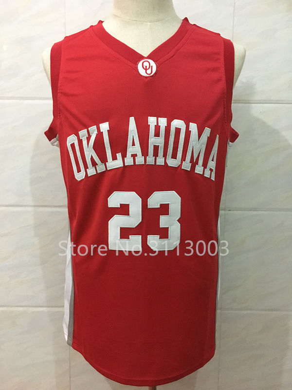 ... nike air oklahoma sooners dri fit basketball jersey sz l large ncaa  university 23 Blake Griffin Oklahoma College Basketball Jersey any Number  and name ... 47e3cc34d
