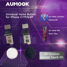 YF Новая Универсальная Кнопка Домой для iPhone 7 7 plus 8 8 plus кнопка гибкий кабель восстановление обычная кнопка Замена функции возврата
