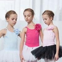 Original Ballet Dance Dresses For Girls Cotton Pink Rose red Blue Tutu Yarn Cotton Skirts Children Square Western Garments Y145