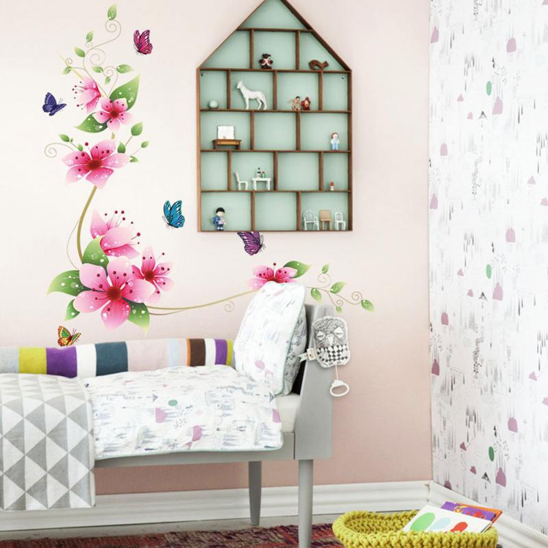Online Get Cheap Butterfly Bedroom Decor Aliexpresscom Alibaba