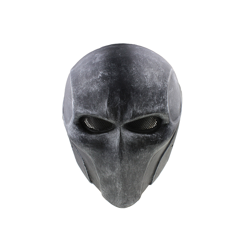 Tactical Skull Face Mask Knight Knell Eye Mask Wire Mesh Full Face Protective Goggles Mask For Hunting Paintball M109